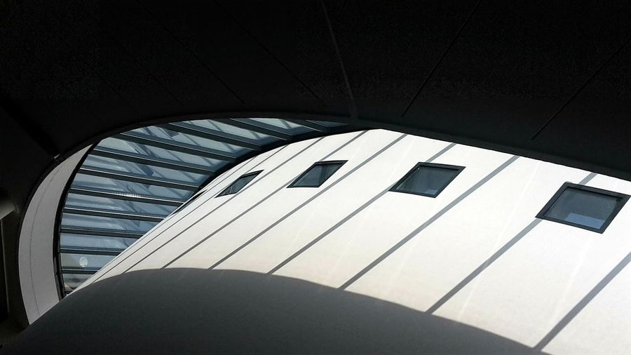 Perspective Art Space Museum Light And Shadows Sunlight Architecture Architecture_collection Windows Blue Sky Looking Up Geometric Shape Geometric Lines, Shapes And Curves From My Point Of View Art Museum Italy Arts Culture And Entertainment Close-up Visual Creativity The Architect - 2018 EyeEm Awards Creative Space Capture Tomorrow