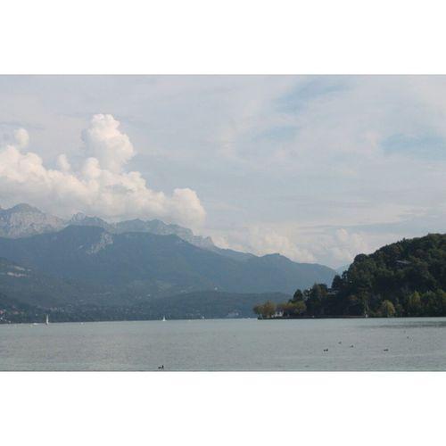 سويسرا جنيف بحيره Switzerland geneva lake nature clouds
