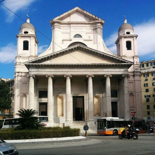 Nunziata Italy Genova Church PhonePhotography