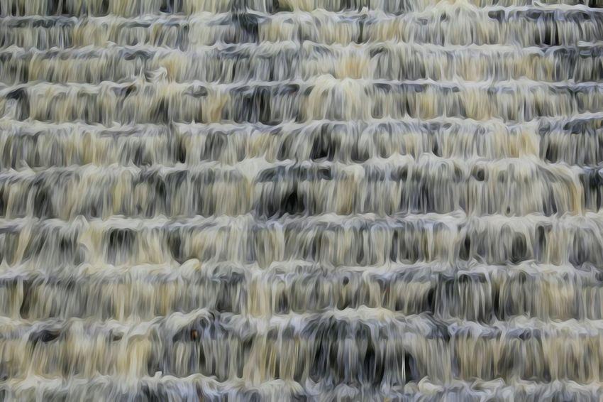 Waterfall Big Waterfall Water Nature Flowing Water Flowing Gushing This Morning Lancashire UK Today ♥