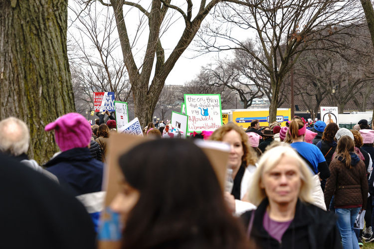 Activism America Anti Day Democracy Demonstration Feel The Bern Fight Protest Revolution Sign Trump USA Washington Washington, D. C. We The People Women Women March Women March On Washington Women's March