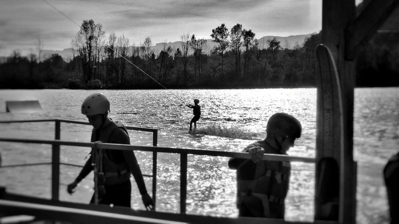 On Any Sunday Outdoors Watersports Mix Yourself A Good Time Breathing Space Wake Boarding Wakepark Extreme Sports Competitive Sport Eye4photography  Skilift Been There. Done That. EyeEm Selects EyeEm Best Pics French Alps Fine Art Photography The Week On EyeEm Sport Tadaa Community Black And White Photography Lost In The Landscape Shootermag Skiing Black And White