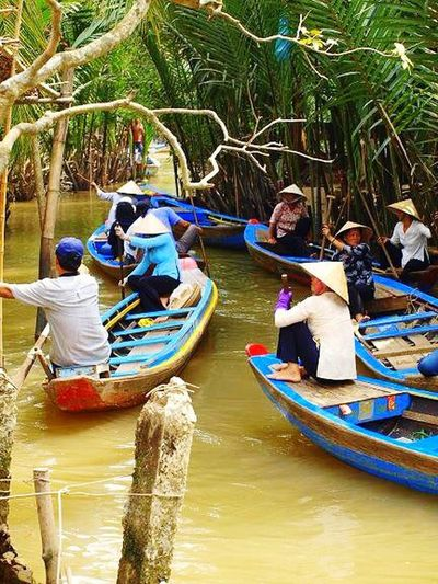Vietnam Traveling Travel Photography Peoplephotography Nature_collection Mekong River Colected Comunity