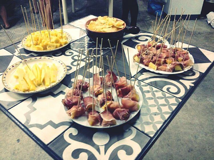 Antipasto Fruit Sapori Speck Ananas Delicious EyeEm Gallery Chips Table