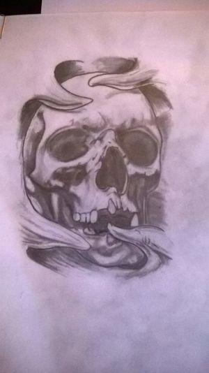 Skull Skull Drawing Drawing Pencil Drawing Blackandwhite