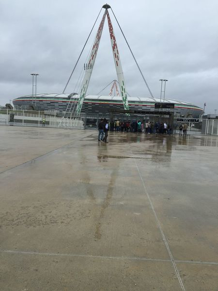 Stadium Juventus Sky Real People Water Day Outdoors Architecture Men One Person People