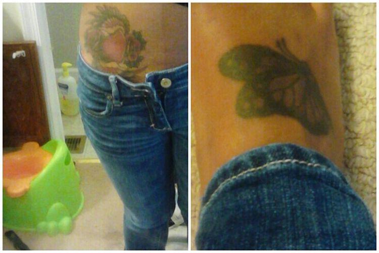 first & second tattoo