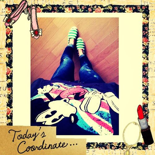 Good morning♪ Fashion Today's Code Codenate