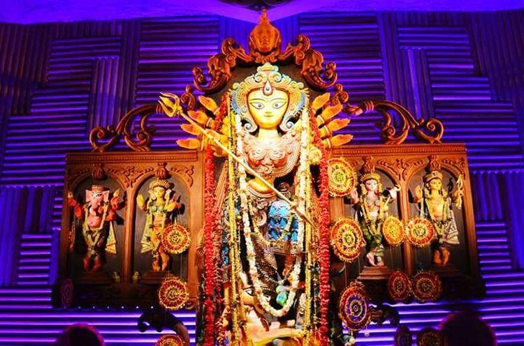 Idol Worship Believe Goddess Durga Indianphotographers Indian Festival Pratima Goddess