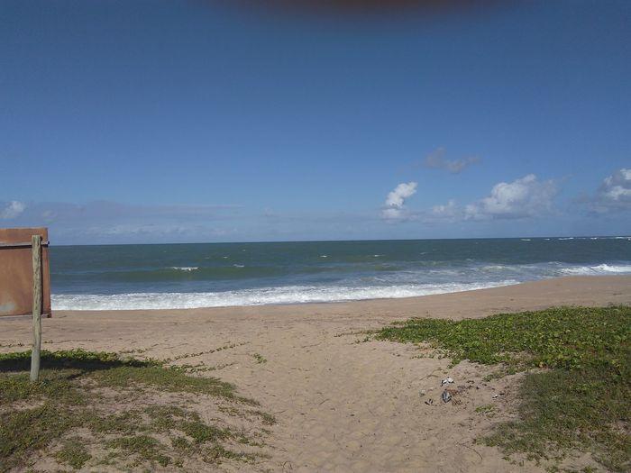 Itacimirim beach! Beach Sea Horizon Over Water Tranquility First Eyeem Photo