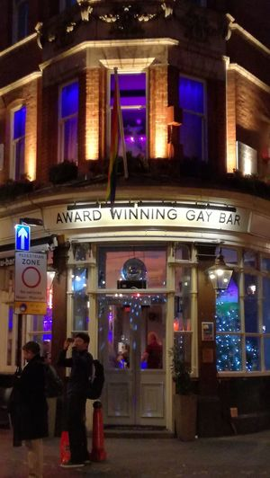 Award Winning Gay Bar, London. Travel Illuminated Travel Destinations Architecture Night City Adult Cultures People Text Entrance Women Adults Only Indoors  London London Lifestyle London Streets Gays Gay World Gaystagram