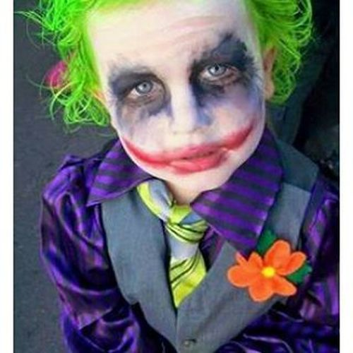 Joker Coringa Jacknapier Viloesdosquadrinhos comicsvillians dccomics cosplaychildren whysoserious