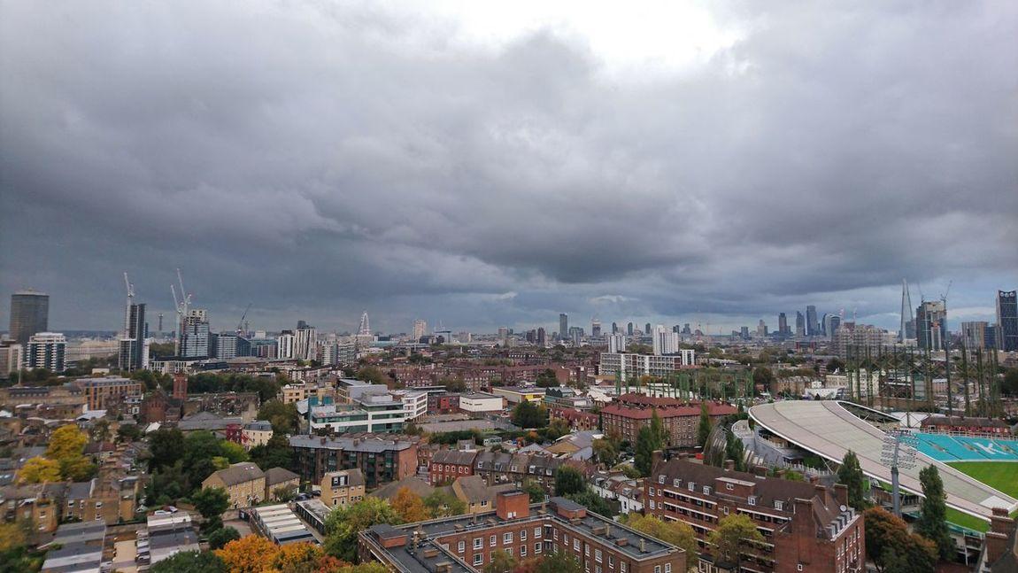 City Sky Cloud - Sky Urban Skyline Outdoors Storm Cloud Built Structure Day Landscape Architecture City Autumn🍁🍁🍁 London