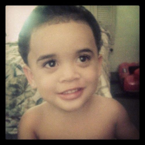 My Sonson rocking the Blowout Myminimeeh Loveum teamhandsome