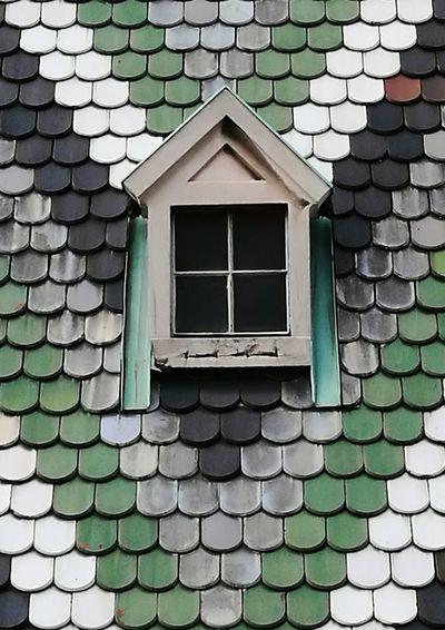 Strange roof