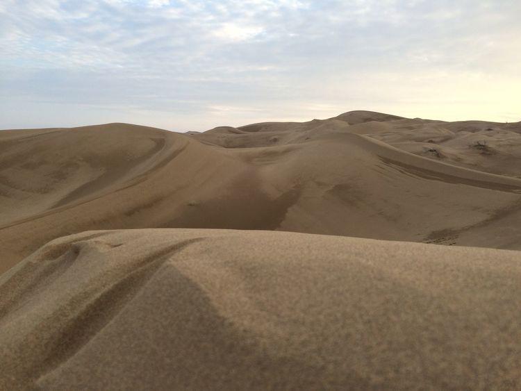 Desert Enjoying Life Irantravel Sandy Lands