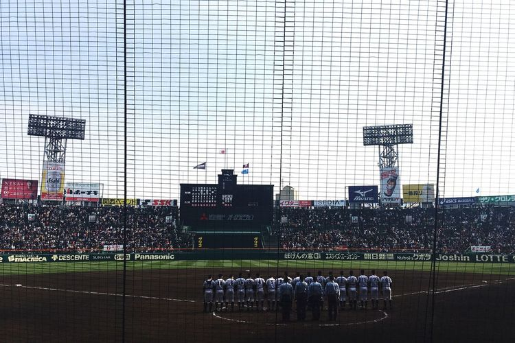準決勝は2試合とも良い試合だったな〜(^。^) お腹すいたー! 甲子園 野球 Baseball