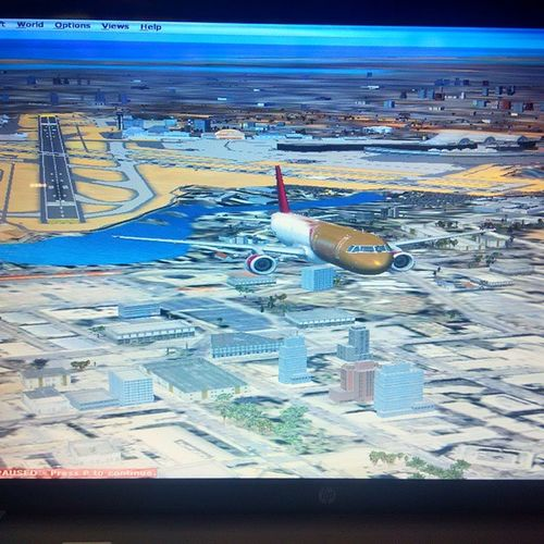Take off from Mumbai T2 Fsx Fsporn Aviation Avgeek Avporn Mumbai Vabb Airbus A321 Qatar Airways
