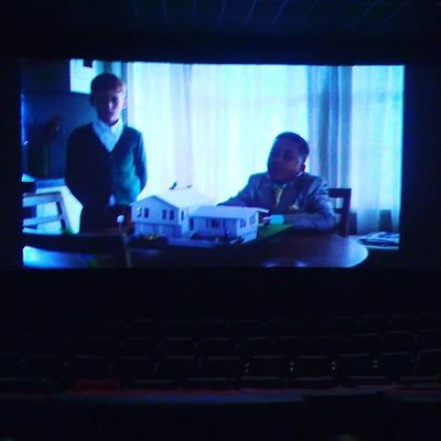 At the movie theater @headshots33