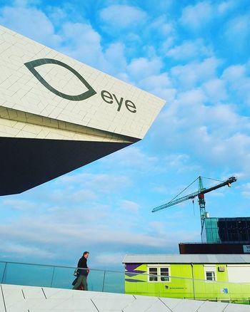Eye Eyemuseum Amsterdam Sky Cityscape