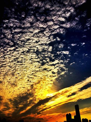 Sky Sunset Scenics Outdoors Seoul Korea Cloud