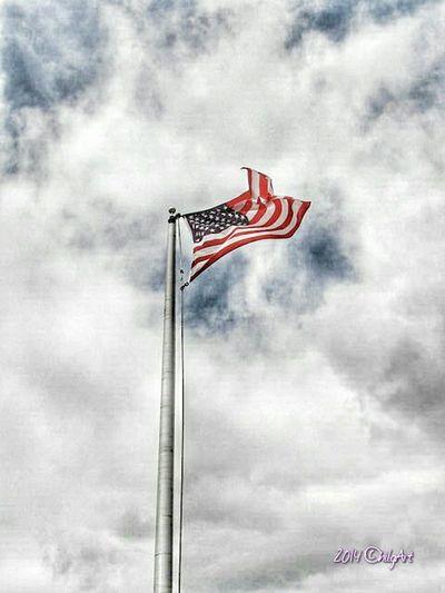 American Flag America God Bless America