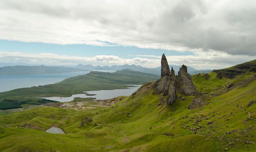 Old Man of Storr The Great Outdoors - 2015 EyeEm Awards Holiday EyeEm Nature Lover Melancholic Landscapes Scotland Isle Of Skye England & Scotland Nature Skye Protecting Where We Play