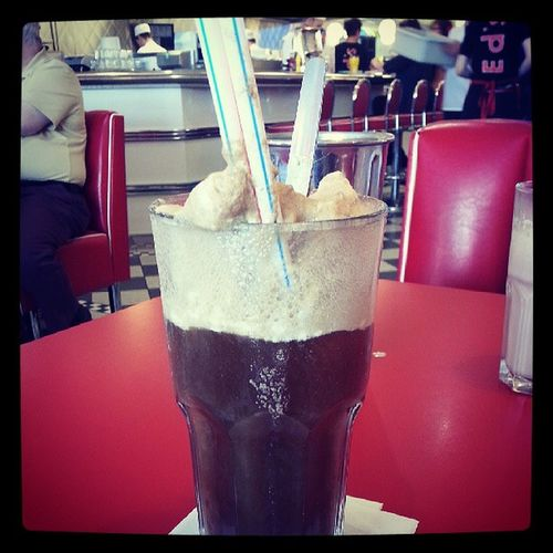 Eds diner Edsdiner Cokefloat Delicious Fat Instafood Dinner Americanstyle