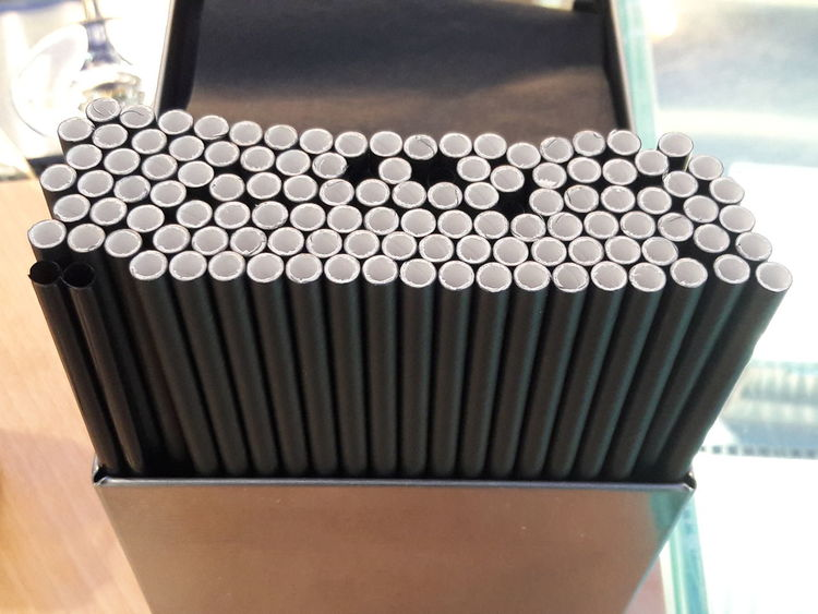 Paper Straw No Plastic Ecology DC Washington, D. C. Material Straw Drink Wine Alcohol Business Finance And Industry Close-up Hexagon Plastic Environment - LIMEX IMAGINE