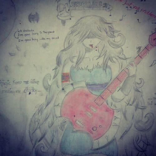 Drawing Marceline Adventuretime
