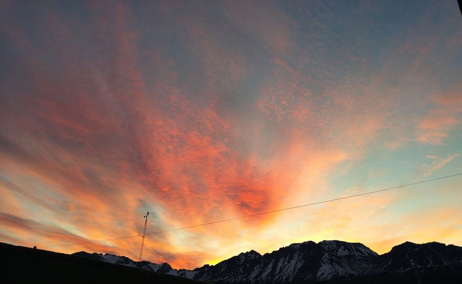 /Atardecer/ Sky Sky And Clouds Mountains Capture The Moment Sunset Sunset And Clouds  Colors Of Nature Nature Endoftheworld EyeEm Nature Lover Ushuaia Tierradelfuego Ushuaia Arg.