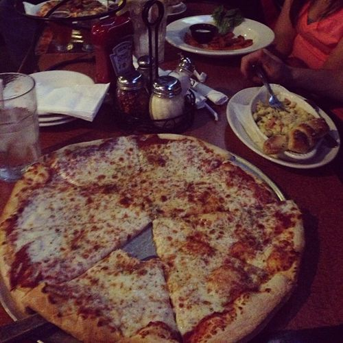 And this was a damn good pizza AllMine