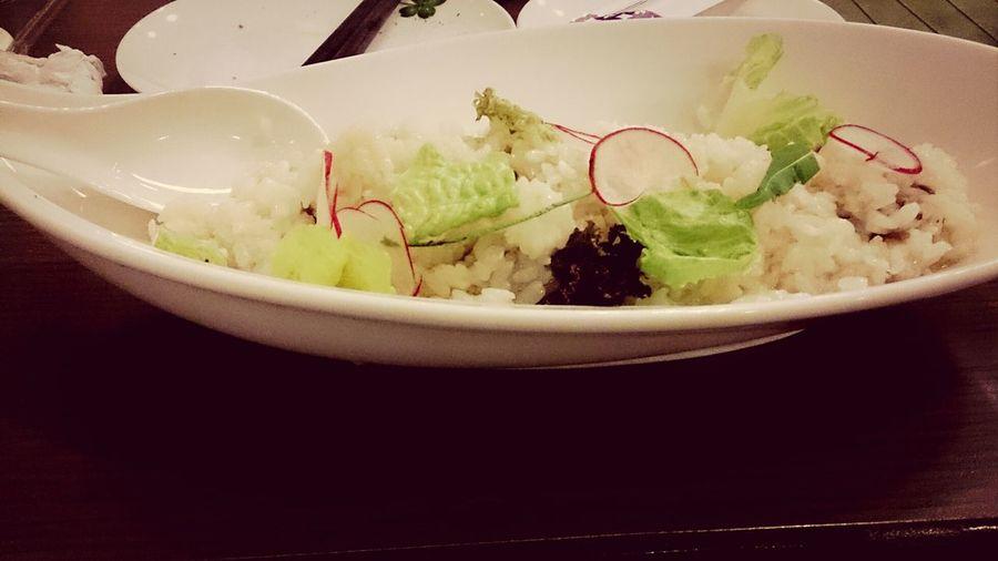 鴨肉與白蘿蔔燉飯