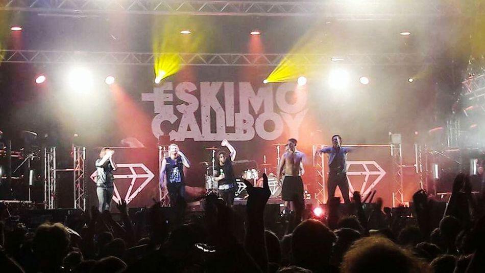 Music Concert EskimoCallboy Olgasrock Festival Germany Oberhausen