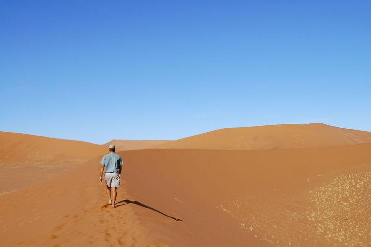 Sossusvlei Sand Dunes Namib Desert Namibia Sossusvlei Arid Climate Desert Sand Dune