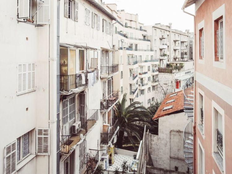 Suburban Cityscape in Nice