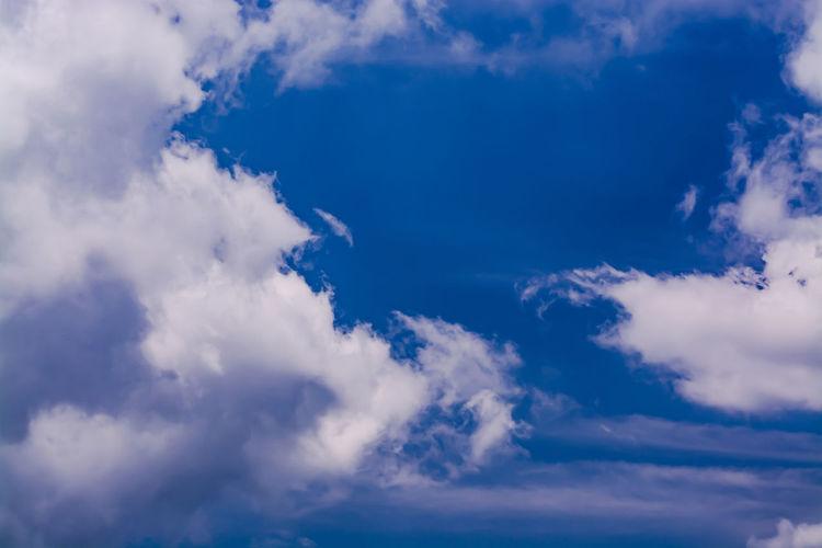 Dancing clouds.