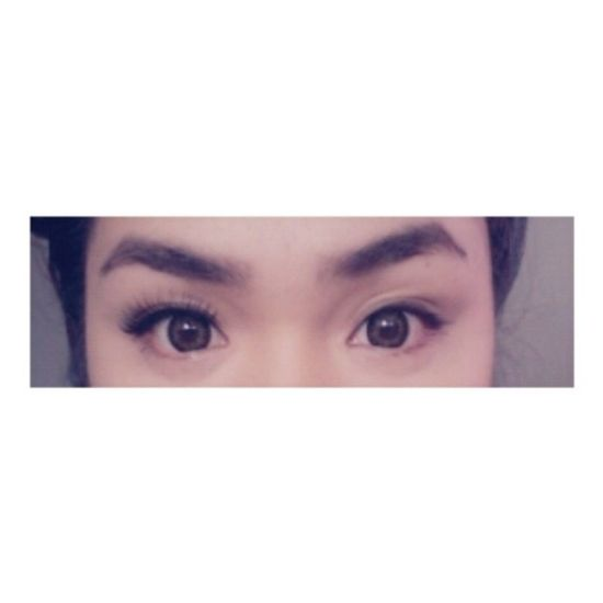 What's one make-up related product that you can't live without? Mine? Falsies! See the difference. :3 Falsies Falsieskindofgirl Vanity Makeup magic falseeyelashes