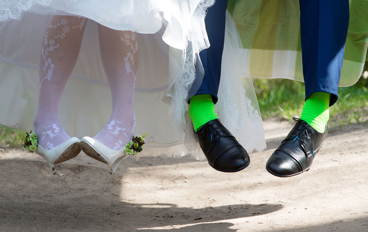 Backgrounds Bouquet Bridal Bouquet Bride And Groom Close-up Dress EyeEmNewHere Green Green Socks Green Stockings Human Body Part Human Leg Shoes Sock Socks Stockings Wedding Wedding Details Wedding Photography White Lieblingsteil EyeEm Diversity Let's Go. Together.