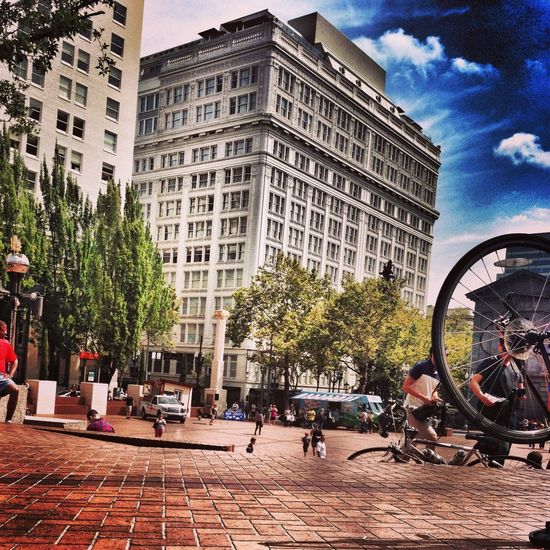 Portland Cityscapes Urban