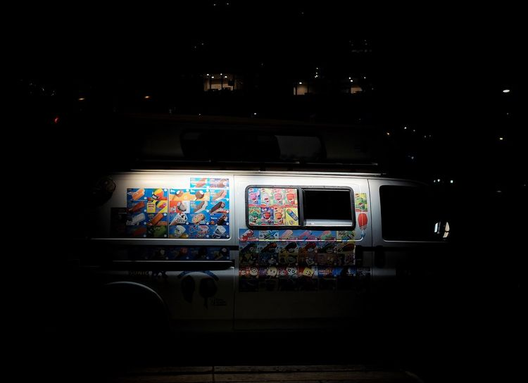 Window Multi Colored Illuminated Dark Creativity Green Color No People Ice Cream Nightcall Streets Of Philadelphia Philly Phillylove ❤️ Mobilephotography FUJIFILM X-T1