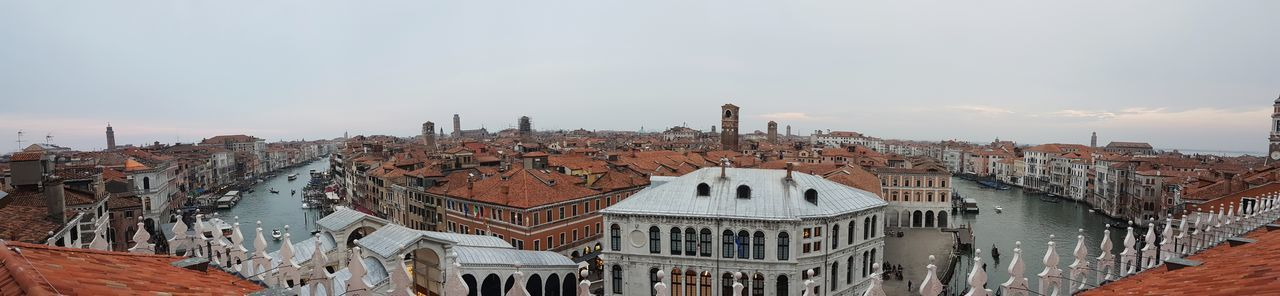 View from the top, Venezia, Italy. Venezia Venice Canals Italy Landscape_photography Landscape Photo Of The Day City View  View Tranquil Scene Sky And Clouds Amazing Beautiful Urban Skyline Scenics City View  Cityscape Sky Landscape_Collection Horizon View Outdoors City Beauty In Nature Top Perspective Top View Architecture EyeEmNewHere