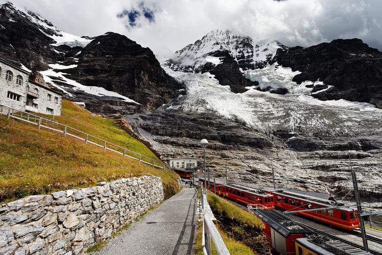 Berneroberland Day Grindelwald Jungfraubahn Jungfraujoch Landscape Landscape_Collection Swiss Switzerland Switzerland Alps Switzerlandpictures Train Train Station Transport Transportation Travel Travel Photography