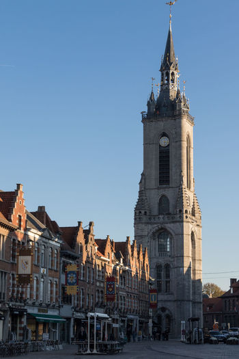 Belfry of Tournai Tournai Belgium Wallonie Architecture Built Structure Building Exterior City Building History Travel Destinations Sky Outdoors Spire  Tower Clear Sky Clock Tower Travel The Past Tourism No People Tall - High Clock