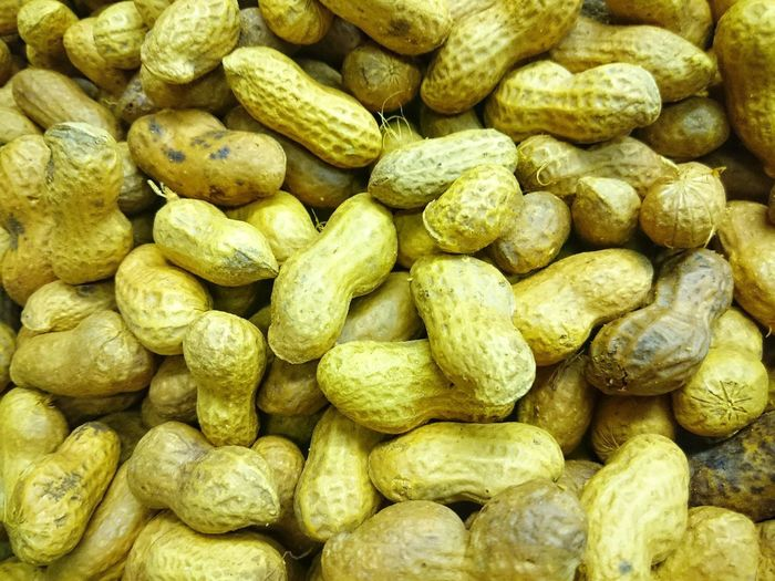 full of peanuts Food Food Background Peanuts Peanut Nut Nuts Groundnuts Groundnut Lugume Goober Goobers Full Frame Backgrounds Large Group Of Objects Abundance No People Close-up Food Outdoors
