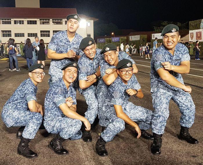 My Son Basic Military Training After Graduation Sembawang Camp Graduation Sept 2017 Singapore