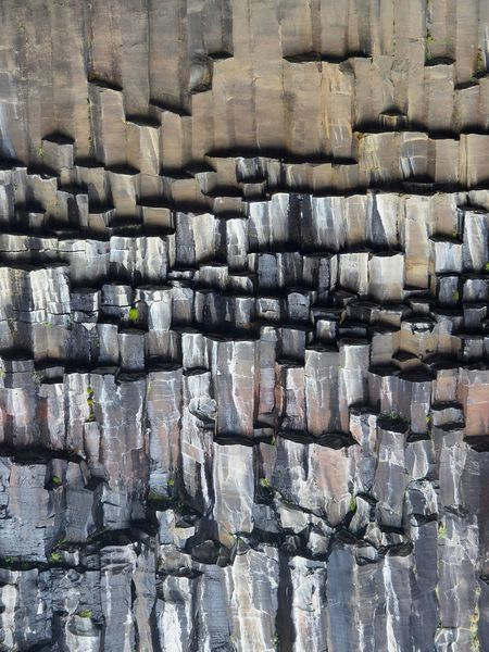 Iceland Pattern Textured  Natural Beauty Natural Pattern Natural Architecture Basaltic Rock Basaltic Prism Basaltic Svartifoss Vatnajökull-Nationalpark EyeEmNewHere Perspectives On Nature