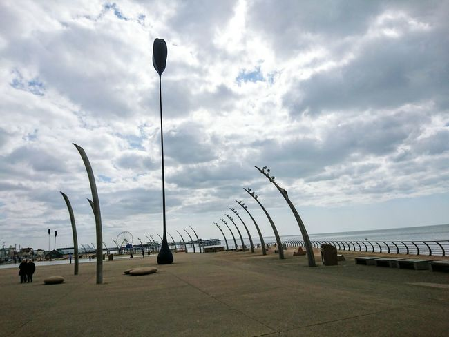 Sea And Sky Seafront Seaside Holiday Resort Amusement  Attractions Streetart Check This Out Taking Photos Hello World Promenade Going For A Walk Strolling Blackpool, UK.