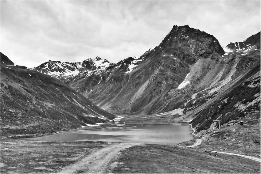 Austria Pitztaler Gletscher Landscape Landscape_photography Landscapephotography Mountains Mountain View Monochrome Black & White Blackandwhite Photography