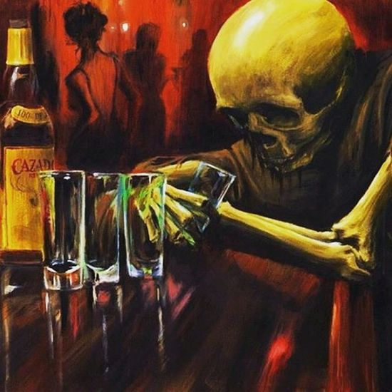 📷 Chillin Pub Skeleton Saturday Colors Salute Cheers Tagsforlikes Like4like Takeiteasy Chilling Skelett Söndag Färg Skål